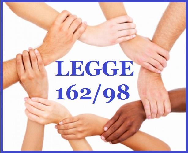 L.162/98 - NUOVI PIANI PERSONALIZZATI DI SOSTEGNO A FAVORE DI PERSONE CON HANDICAP GRAVE - 2020